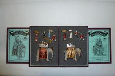 Britains Toy Soldiers, The Delhi Durbar 8 sets