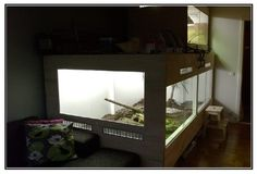 tegu cage. I want to make one.