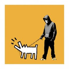 Banksy - Choose Your Weapon (Bright Pink) | From a unique collection of animal prints at http://www.1stdibs.com/art/prints-works-on-paper/animal-prints-works-on-paper/