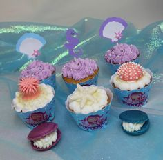 Under the Sea Cupcakes by Violeta Glace