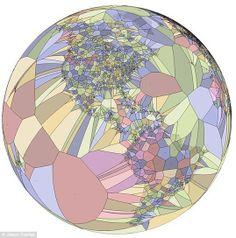 """El mundo """"perfecto"""" de Voronoi: donde matemática y geografía se ..."""
