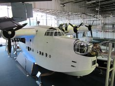 Short Sunderland V ,RAF Museum, Hendon,London. Incongruously in The Battle of Britain Hall.