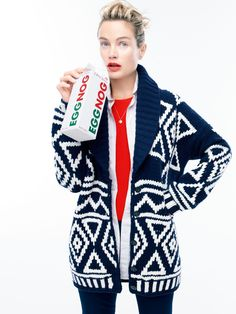This sweater!  So cute!  Women's J.Crew Collection : Women's Clothing | J.Crew