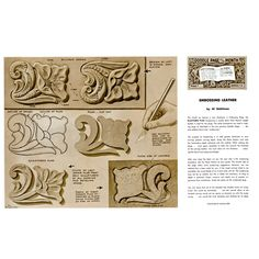 Leathercraft Library - Embossing Leather3 by Al Stohlman (Series 7B Page 7)
