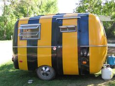 I so want this trailer for camping at the climbing walls this summer!  Hilarious and cool!