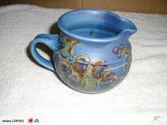 Awesome Glazed Pottery jug Sue Hardie studiopotter for sale on Trade Me, New Zealand's auction and classifieds website