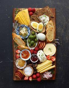 the perfect Scandinavian breakfast board.