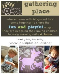 Tot School Gathering Place Week 79 ~ Exploring Germany, vehicles, and red white & blue!