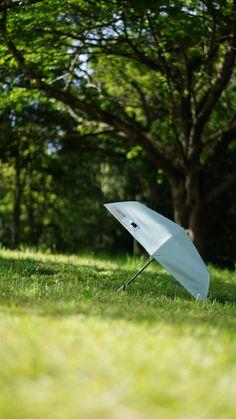 日傘としても利用できる 晴雨兼用 自動開閉式 innovator 折りたたみ傘 #傘 #日傘 #umbrella