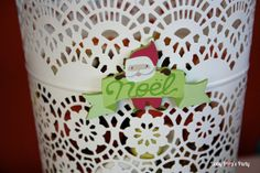 Sweet table Merry Christmas - Arbre de noël Toyota - www.babypopsparty.com/en-image Plastic Laundry Basket, Decoration, Toyota, Organization, Party, Image, Home Decor, Christmas Trees, Children