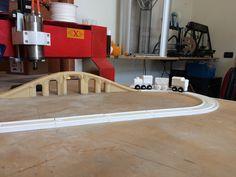 Stampa 3D, vagoni e binari