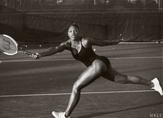 Serena Williams won Wimbledon for the seventh time this year. The is ranked as the number one female tennis player in the world and has won 10 Grand Slam singles and 13 Grand Slam doubles championships alongside her sister, Venus Williams. Annie Leibovitz, Serena Williams Photos, Venus And Serena Williams, Tennis Players, Olympians, Black Is Beautiful, Beautiful Women, Hello Beautiful, Beautiful People