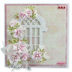 Marianne Design Craftables Die - Arched Window CR1259 < Craft Shop | Cuddly Buddly Crafts