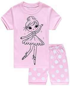Baby Girl Clothes IF Pajamas Baby Girls Shorts Set Pajamas 100% Cotton Clothes Infant Toddler Kid 12-18 Months