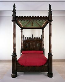 19th century gothic bed