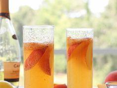 Boozey Tuesdays - Fresh Peach Billinis - Fab Fatale