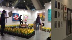 Art fair Tokyo 2017  hideki iinuma