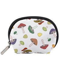 Mushrooms+Pattern+02+Accessory+Pouches+(Small)++Accessory+Pouch+(Small)