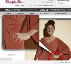 70 Worst Photoshop Mistakes In Magazines & Ads - Part II
