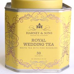 Harney & Sons Royal Wedding Tea -- delicious!