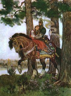 Kochergin, Nikolai (b,1897)- Ruslan & Lyudmila- 'Kalevala'