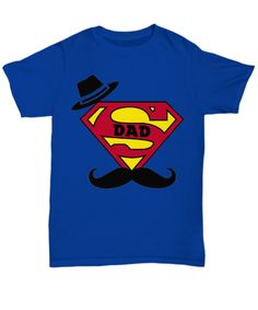 SUPERDAD on your way!! That's my DAD dude :D Super Dad, Happy Fathers Day, My Dad, Dads, Free Shipping, Fathers, Father