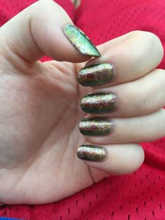 Indigo Bananas Accretion Disk stamped with Revlon 24k (Pueen Encore SE04B) 4/2/15