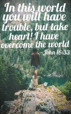 John 16:33.