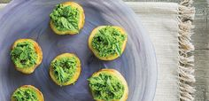 Using roasted potato coins as a base is a foolproof way to please gluten-free diners. And, when smashed, the peas become creamy and vibrant green, adding sweetness to the rich …