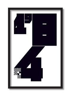 Tom Brown ArtDesign / Typography Prints / Poster / 2014