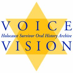 The Voice/Vision Holocaust Survivor Oral History Archive Night By Elie Wiesel, Holocaust Survivors, Oral History, University Of Michigan, The Voice, Opportunity, Archive, Genealogy, Wwii