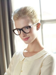 Orla's range of glasses include these classic cat-eye frames © Boots