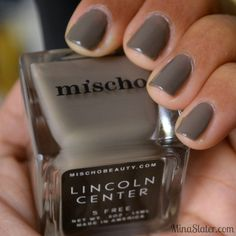 Mischo Luxury Nail Lacquer - Lincoln Center - The Fashion Week Collection