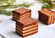 """Prăjitura """"Liliana"""" cu ciocolată și cremă de mascarpone cu caramel Creme Caramel, Romanian Food, Tiramisu, Sweets, Ethnic Recipes, Cupcake, Cakes, Mascarpone, Raffaello"""