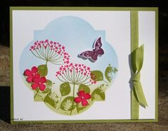 Summer Silhouettes © Stampin' Up! @ My Tanglewood Cottage