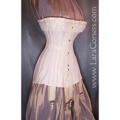 Lara Corsets - Antique 1910's, Titanic and WWI era Corsets ❤ liked on Polyvore