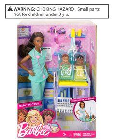 Barbie Baby Doctor Doll & Playset, Little Girls (2-6X) & Big Girls (7-16)
