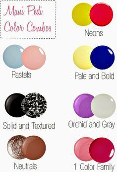 The Perfect Mani-Pedi Color Combinations