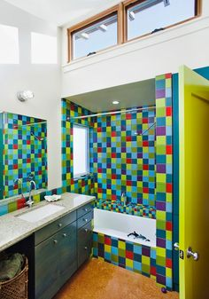 Modern Kids Bathroom - Find more amazing designs on Zillow Digs!