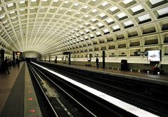 Washington, DC Metro Station. #travel #metro #dc