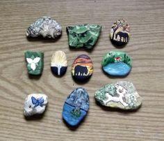 More story stones.  Sharon Jorgensen