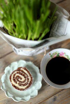Café con pastitas, todo un clásico.