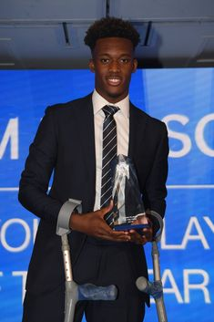 10/05/2019 - Callum  Hudson-Odoi is our Young Player of the year!