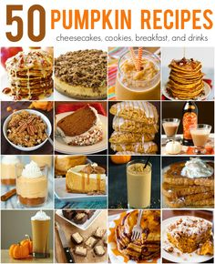 Pumpkin Recipes to f