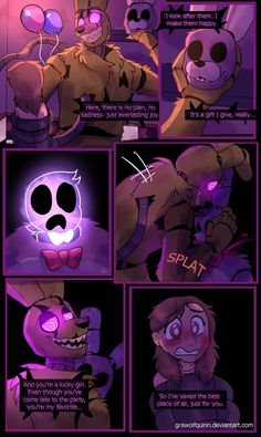 Springtrap and Deliah (Page 72) by GraWolfQuinn.deviantart.com on @DeviantArt