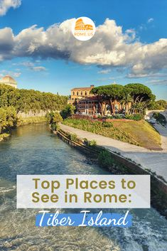 The Tiber Island is the only island in the part of the Tiber River which runs through the Eternal City. Ancient Rome history, cinema, what to see Perfect Image, Perfect Photo, Love Photos, Cool Pictures, Rome History, Ancient Rome, Bridges, Banks, Places To See