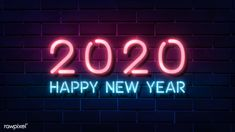 Happy New Year 2020 Wallpaper. If you like changing the look of your desktop you ll definitely love happy new year 2020 wallpapers. These wallpapers in essence can capture what the upcoming 2020 means for you whether you plan on going on a . Chinese New Year 2020, Happy Chinese New Year, Happy New Year 2020, New Year Images Hd, Happy New Year Pictures, Pink Neon Wallpaper, Wolf Wallpaper, Wallpaper Ideas, New Years Background