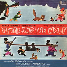 Peter and the Wolf. Disney, Walt Disney Records and Sterling Holloway.