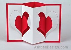 Ashbee Design - Accordion Card Design with Silhouette cutting files
