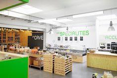 Halle Romande shop zap design Lausanne